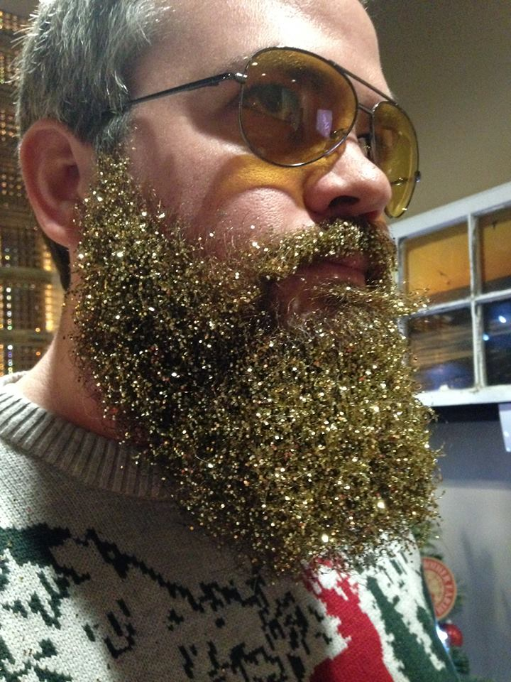 Jebb Graff Glitter Beard by Charissa James