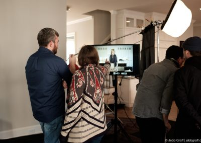 Pixel by LabCorp Instructional Video Behind The Scenes | Photo by Sarah Moody for Jebb Graff