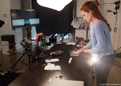Pixel by LabCorp Instructional Video Behind The Scenes | Photo by Jebb Graff