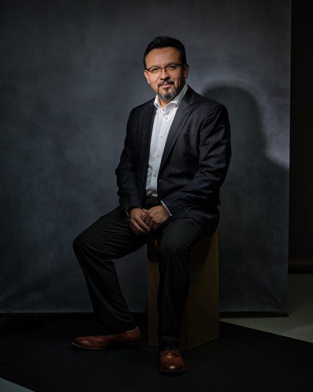 Santiago J. Muñoz Portrait by Jebb Graff