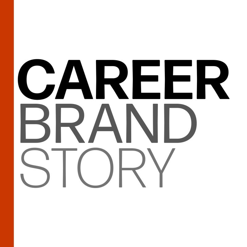 Career Brand Story Podcast Cover Art by Jebb Graff