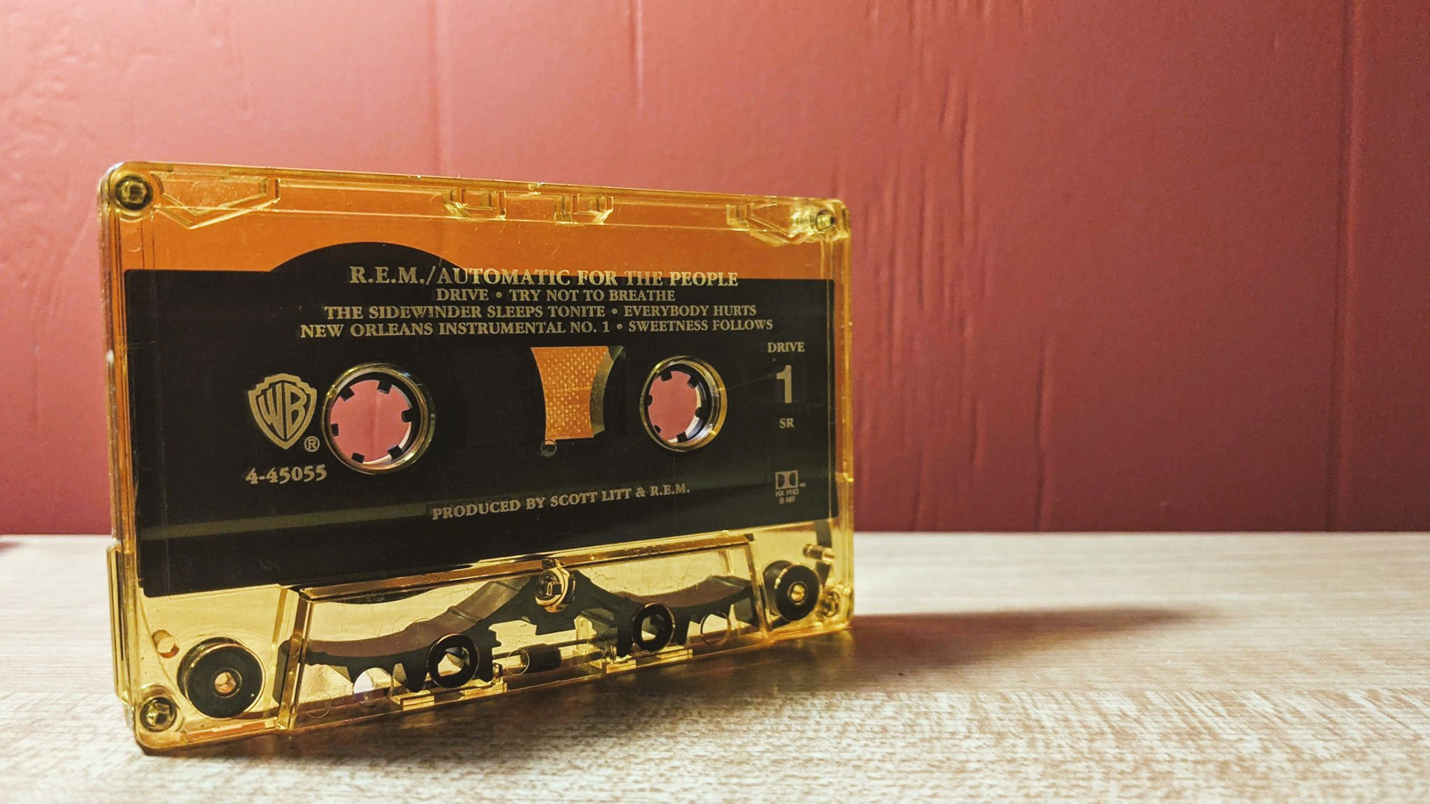 REM - Automatic For The People Cassette Tape   Jebb Graff